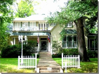 1859 Tyler Texas Bed and Breakfast, Tyler's oldest Historic